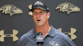 Harbaugh says priority should be prepping rookies when considering offseason calendar changes