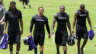 As I expected, there was a lot more made of who didn't show up at this week's organized team activities than who did. The absences of <strong>Terrell Suggs</strong>, <strong>Haloti Ngata</strong> and <strong>Vonta Leach </strong>in particular seemed to spur the most questions. Again, the workouts are voluntary and some players choose to stay home and work out on their own. Coach <strong>John Harbaugh</strong> pointed out that the team didn't see <strong>Ray</strong> <strong>Lewis</strong> much – if at all – in the offseason. <strong>Ed Reed </strong>wasn't exactly a fixture at OTAs either. And <strong>Joe Flacco</strong> mentioned that <strong>Anquan Boldin</strong> wasn't traditionally at the facility this time of year either. The comments weren't made to disparage any of the three players but the point was made. The Ravens knew that those players would be ready to go when needed, which is the same feeling they have with the likes of Suggs, Ngata, Leach and <strong>Marshal Yanda</strong>, who also was a no-show. The Ravens have 90 players on their roster and all but about six of them were on the field in some capacity. And another veteran, <strong>Jacoby Jones,</strong> is expected to arrive today after his third-place finish in <em>Dancing with the Stars</em>. That should be far more the story than the handful of players who didn't show at a workout they technically didn't have to be at.