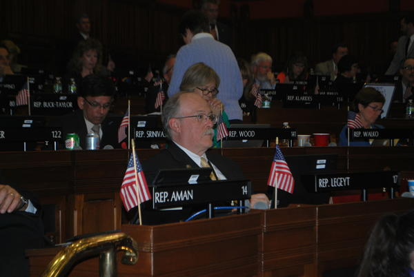State Rep. Timothy LeGeyt recently voted in favor of a bill that helps veterans.
