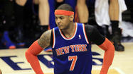 New York Knicks forward Carmelo Anthony was hindered for the final 12 games he played this past season by a partially torn left shoulder, according to numerous media reports.