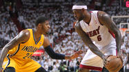 Paul George, LeBron James, Miami Heat