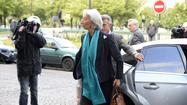 PARIS -- Christine Lagarde, the head of the International Monetary Fund, was questioned by a judge Thursday over her role in a $366-million payout to a businessman supporter of former French President Nicolas Sarkozy.