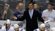 (Reuters) - The Vancouver Canucks fired head coach Alain Vigneault on Wednesday, along with assistants Rick Bowness and Newell Brown, following the National Hockey League team's first-round exit from the playoffs.
