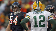 "Green Bay coach Mike McCarthy wasn't the only Packers representative <a href=""http://www.chicagotribune.com/sports/football/bears/chi-brian-urlacher-chicago-bears-green-bay-packers-20130522,0,336065.story"">speaking with fond remembrance</a> about the career of Chicago Bears middle linebacker Brian Urlacher on Wednesday."