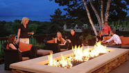 Embers Terrace at Grand Geneva Resort & Spa is perfect for enjoying dining, cocktails and views under the stars.