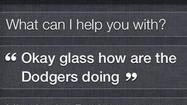 <b>Photos</b>:  Siri responds to Google Glass command