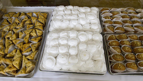 Get your fill of spanakopita, baklava, finikia at Greek fest