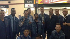 Baltimore Orioles don denim, denim and more denim for their road trip to Canada