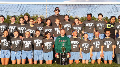 WJMS girls' soccer wins conference crown