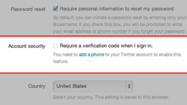 Twitter has rolled out a two-step verification, a feature users can turn on to give themselves more protection against would-be hackers.