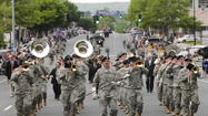 The annual Memorial Day parade is set to begin on Monday at 9:30 a.m.