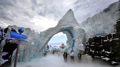 SeaWorld's Antarctica: Cool location designed for warm welcome