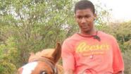 Trayvon Martin on horse
