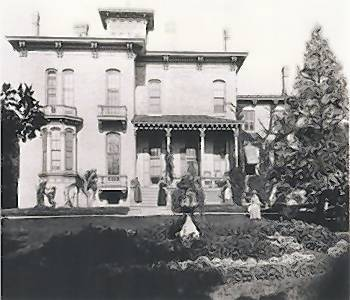 This photo, courtesy of the Winnetka Historical Society, shows the Gage House in the late 1800s. Owner John O'Brien has been working with preservationists to find a compromise to maintain some of the original structure.