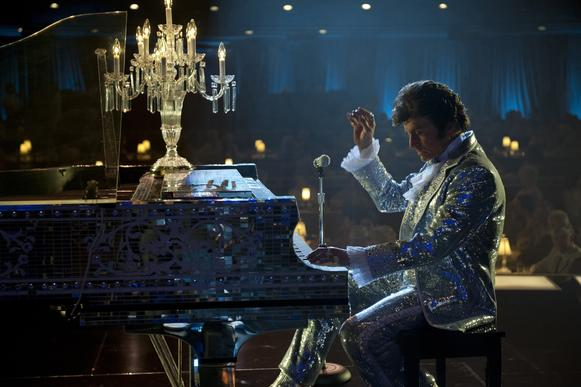 "Michael Douglas plays Liberace in HBO's ""Behind the Candelabra."""