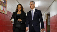 Emanuel and Byrd-Bennett discuss closings