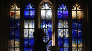 The First New Stained Glass Windows In Over A Decade Are Installed At Westminster Abbey