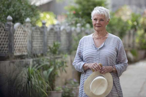 "Judi Dench, seen here in ""The Best Exotic Marigold Hotel,"" stars in Stephen Frears' new film, ""Philomena,"" which will be released this fall by Weinstein Co."