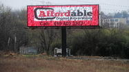 Easton City Council tabled discussion of a proposed lease for a billboard at Hackett Park on Wednesday night, and that's when things got interesting.
