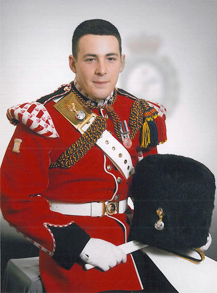 Drummer Lee Rigby, of the British Army's 2nd Battalion The Royal Regiment of Fusiliers, is seen in an undated photo released May 23, 2013. Rigby was killed May 22 in an attack by two men in Woolwich, southeast London, the Ministry of Defense said.