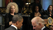 Carole King honored at White House
