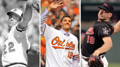 Notable first starts for Orioles pitchers