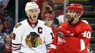 DETROIT -- With their backs approaching the wall, the Chicago Blackhawks are determined to prove how they will respond to their first real adversity of the season.