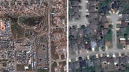 Before and after: Tornado ravages Moore, Okla.