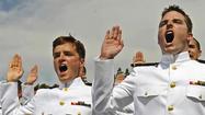 Naval Academy graduation through the yea