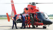 Coast Guard rescues injured crewman 60 miles off Ocean City