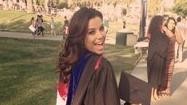 Eva Longoria is backing up her beauty with a whole lot of brain. The actress graduated with a master's degree Wednesday.