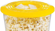 Avon has recalled about 54,700 microwave popcorn makers because of burn and fire hazards. When cooked too long, the popcorn can overheat in this popcorn maker and ignite. The containers are item number 474-105 in Avon's brochures and website.