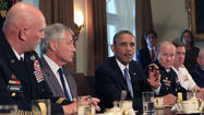 Obama meets with generals on sexual assaults