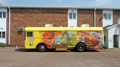 The current Somerset County Bookmobile will be replaced with a new model.
