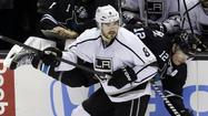 "Kings defenseman Drew Doughty scoffed at the notion, put forth by Sharks forward TJ Galiardi, that goalie Jonathan Quick engages in ""a little embellishment."""