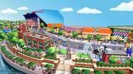 "Borrowing a page from its Harry Potter playbook, Universal Orlando said Thursday it will soon add a collection of shops and restaurants with a common theme drawn from the world of the long-running animated television show ""The Simpsons."""
