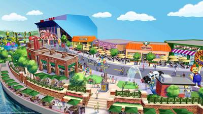 "Universal Studios to add restaurants, shops based on ""The Simpsons"""