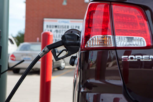 The average price of gas in Chicago is $4.55 in the latest AAA survey.