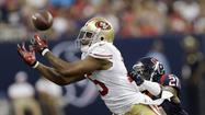 The San Francisco 49ers' Michael Crabtree had surgery Wednesday to repair a torn right Achilles tendon.
