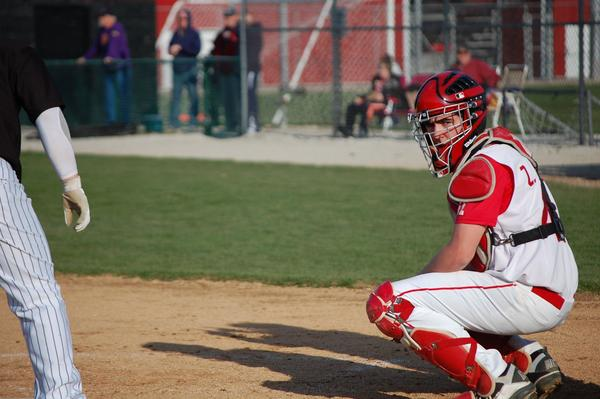 After winning a conference title last year, Maine South catcher Zack Jones had to rally his team to make up for the loss of last year's seniors.