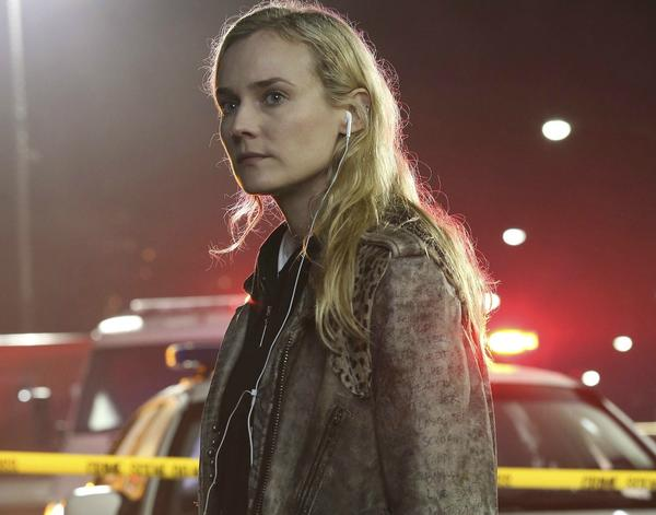 "Diane Kruger is an El Paso detective in ""The Bridge"""