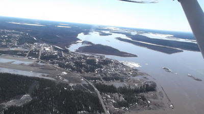 Fort Yukon Flooding Danger Mostly Over