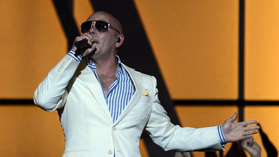 Pitbull teams up with the Heat in new White Hot video