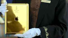 24-karat iPad for guests at the Burj Al Arab hotel