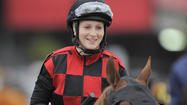 Rosie Napravnik will get another shot at history in the Belmont Stakes — just aboard a different horse than in her previous two Triple Crown races.