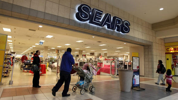 The Sears store in North Riverside Park Mall is shown in a 2011 photo.