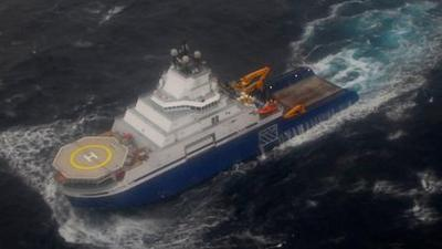 Tow Vessel Fuel Problems Preceded Kulluk Grounding