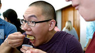 <b>Photos</b>:  UCLA students learn the science of apple pie