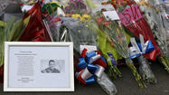 Drummer Lee Rigby memorial flowers