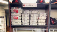 TORONTO -- Kevin Gausman arrived in the visiting clubhouse of the Rogers Centre on Thursday to find about $300 worth of powdered mini doughnuts stacked inside and at the base of his locker, another nice welcoming gift from center fielder Adam Jones.